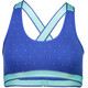 Mons Royale W's Stella X-Back Bra Blue Dot